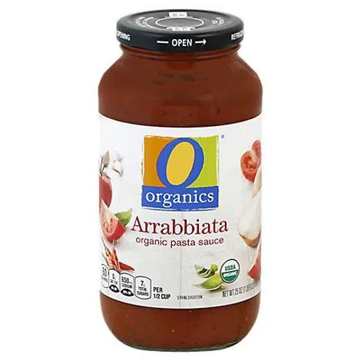 Picture of Organic Pasta Sauce Arrabbiata - 25 Oz