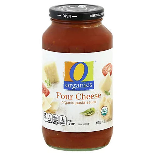 Picture of Organic Pasta Sauce Four Cheese - 25 Oz