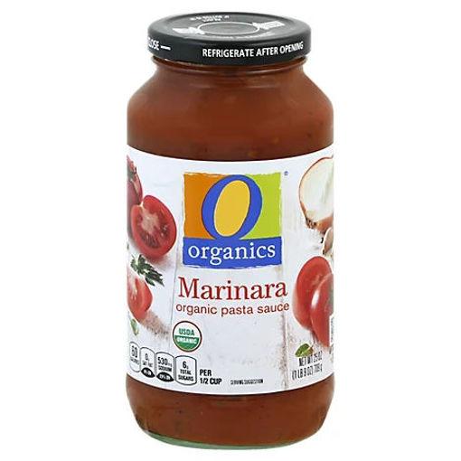 Picture of Organic Pasta Sauce Marinara - 25 Oz