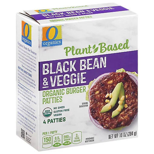 Picture of Organic Patties Black Bean Southwestern Style 4 Count - 10 Oz