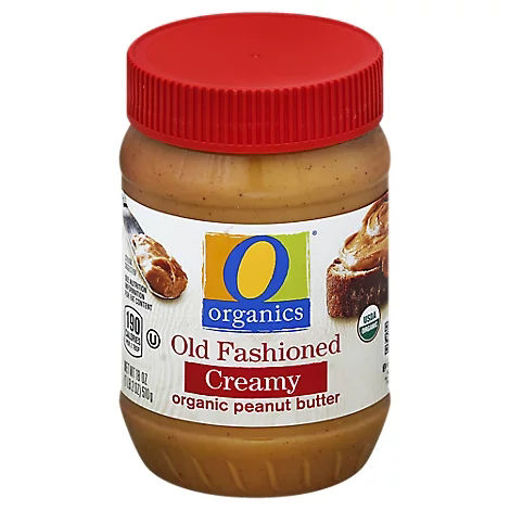 Picture of Organic Peanut Butter Spread Old Fashioned Creamy - 18 Oz