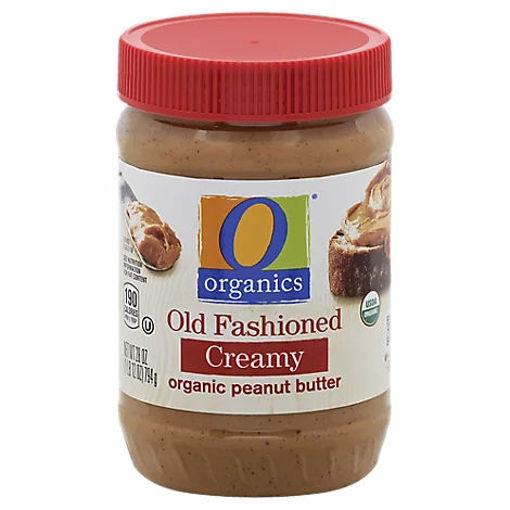 Picture of Organic Peanut Butter Spread Old Fashioned Creamy - 28 Oz