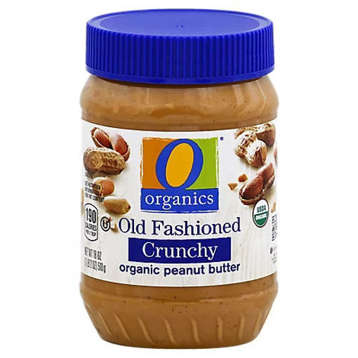 Picture of Organic Peanut Butter Spread Old Fashioned Crunchy - 18 Oz