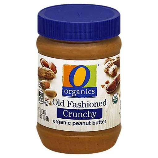Picture of Organic Peanut Butter Spread Old Fashioned Crunchy - 28 Oz