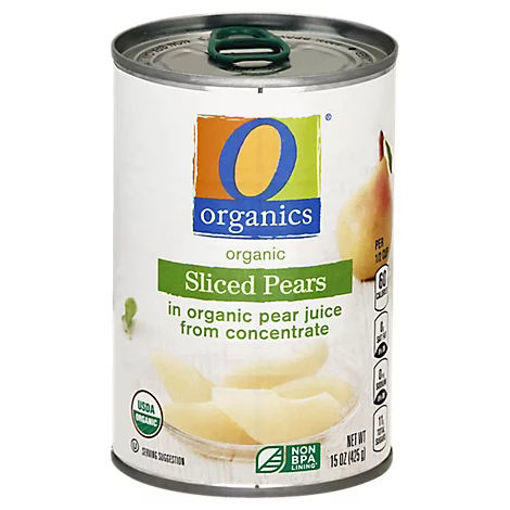 Picture of Organic Pears Sliced - 15 Oz
