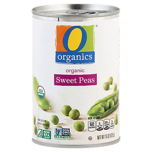 Picture of Organic Peas Sweet - 15 Oz