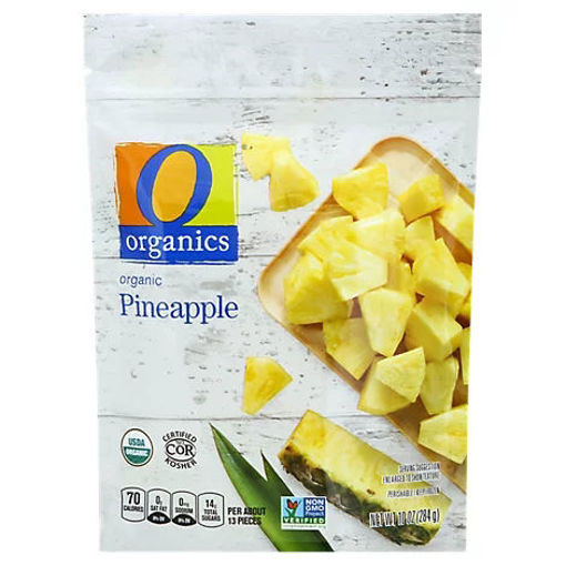 Picture of Organic Pineapple Chunks - 10 Oz