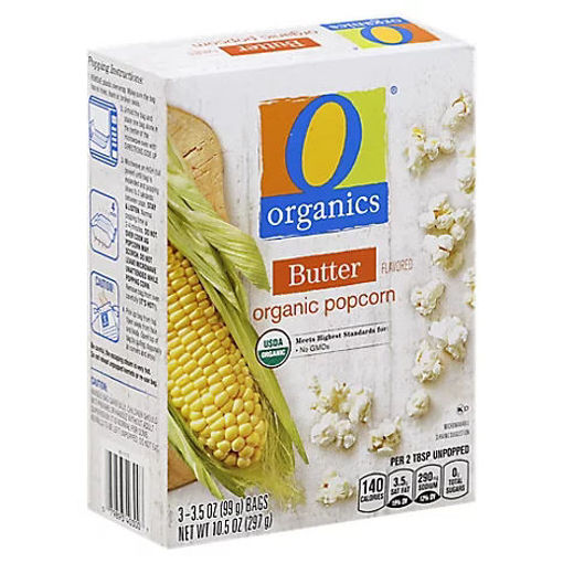 Picture of Organic Popcorn Butter - 3-3.5 Oz