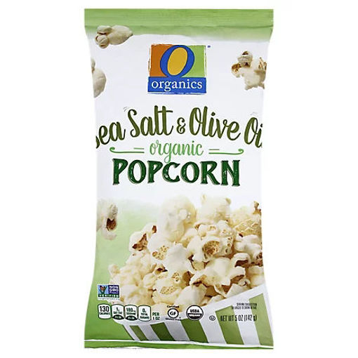 Picture of Organic Popcorn Sea Salt & Olive Oil - 5 Oz