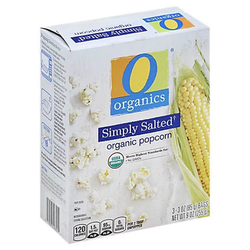 Picture of Organic Popcorn Simply Salted - 3-3 Oz
