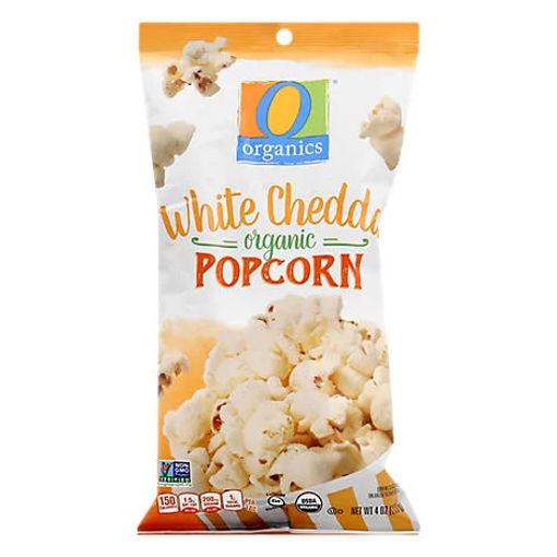 Picture of Organic Popcorn White Cheddar - 4 Oz