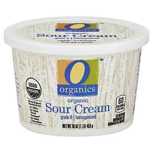 Picture of Organic Sour Cream - 16 Oz