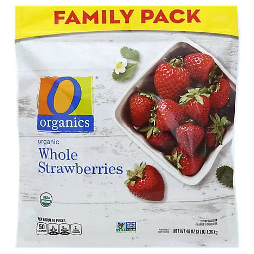 Picture of Organic Strawberries Whole Family Pack - 48 Oz
