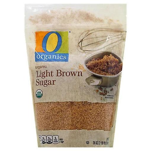 Picture of Organic Sugar Brown Light - 24 Oz