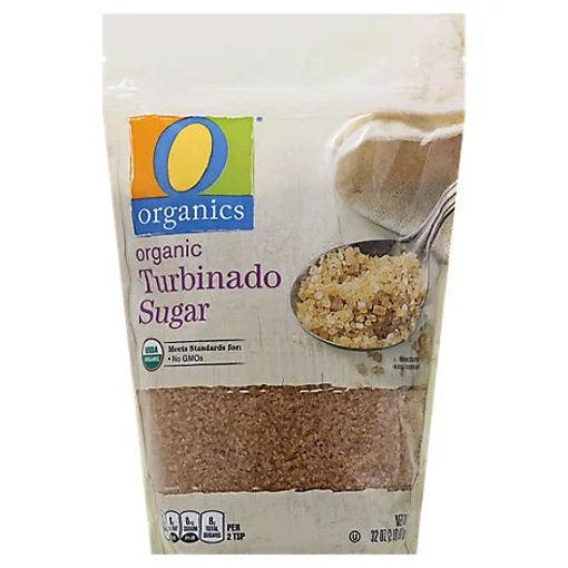 Picture of Organic Sugar Turbinado - 32 Oz