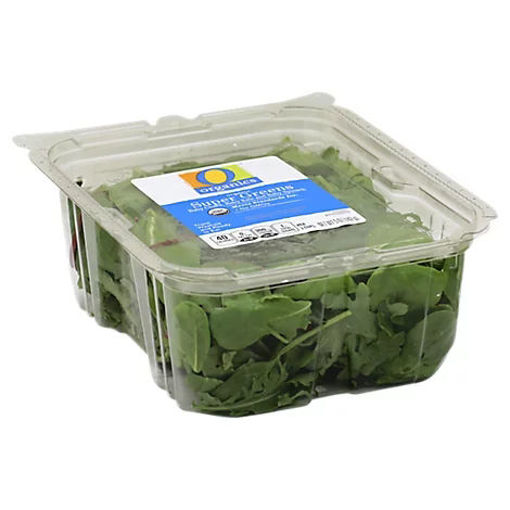 Picture of Organic Super Greens Baby Spinach Baby Kale & Red and Green Chard - 5 Oz