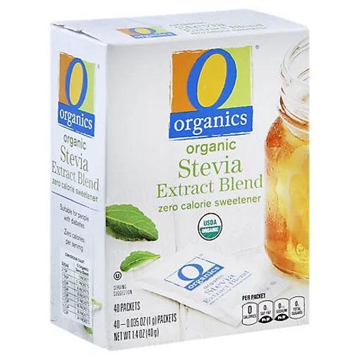 Picture of Organic Sweetener Zero Calorie Extract Blend Stevia - 40-0.35 Oz