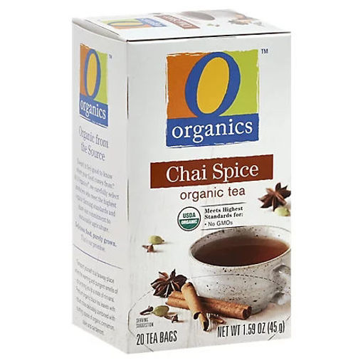 Picture of Organic Tea Chai Spice 20 Count - 1.59 Oz