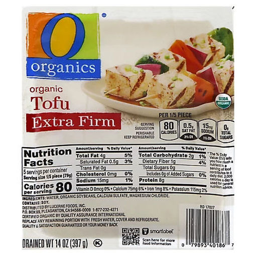 Picture of Organic Tofu Extra Firm - 14 Oz