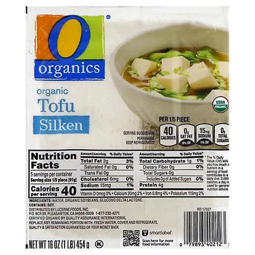 Picture of Organic Tofu Silken - 16 Oz