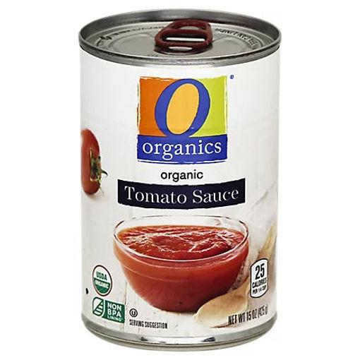 Picture of Organic Tomato Sauce - 15 Oz
