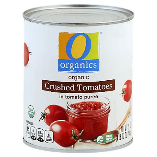 Picture of Organic Tomatoes Crushed In Tomato Puree - 28 Oz