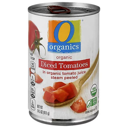 Picture of Organic Tomatoes Diced In Tomato Juice - 14.5 Oz