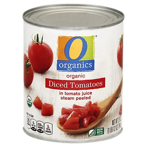 Picture of Organic Tomatoes Diced In Tomato Juice - 28 Oz