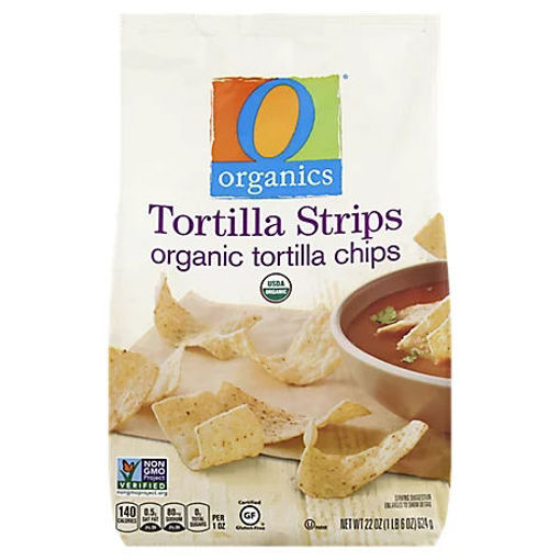 Picture of Organic Tortilla Chips Strips - 22 Oz