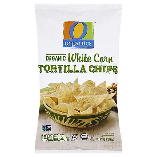 Picture of Organic Tortilla Chips White Corn - 10 Oz