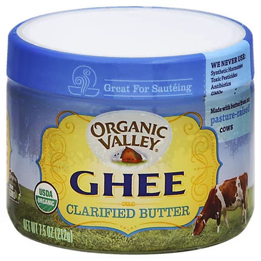 Picture of Organic Valley Ghee Clarified Butter - 7.5 Oz
