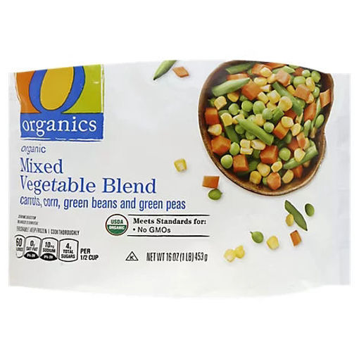 Picture of Organic Vegetables Mixed Blend - 16 Oz