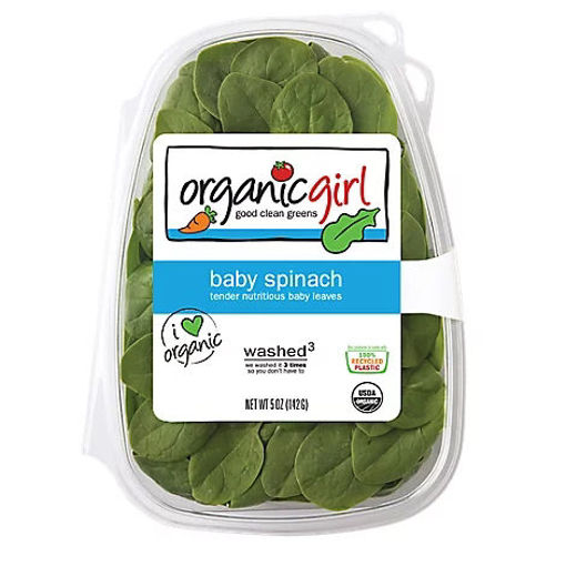 Picture of organicgirl Organic Baby Spinach Washed - 5 Oz