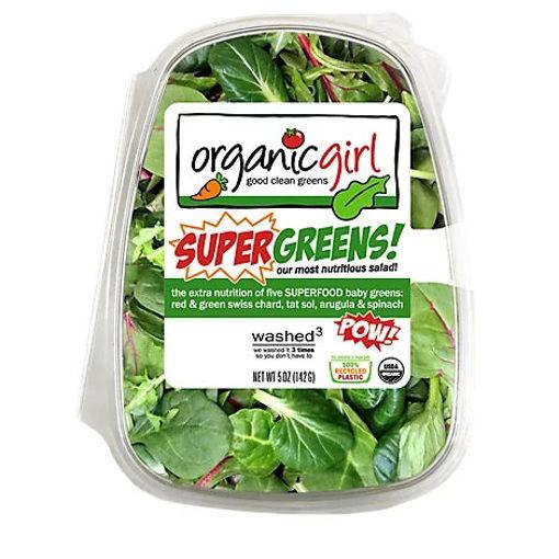 Picture of organicgirl Organic Salad Supergreens - 5 Oz