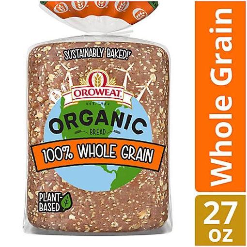Picture of Oroweat Organic Bread 100% Whole Grain - 27 Oz