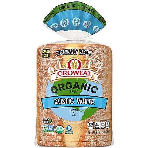 Picture of Oroweat Organic Bread Rustic White - 27 Oz