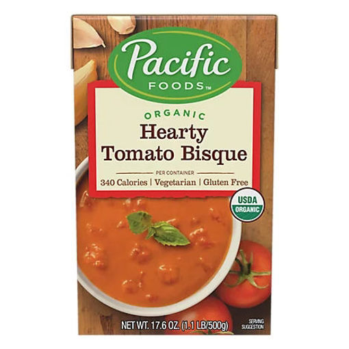 Picture of Pacific Organic Bisque Hearty Tomato - 17.6 Oz