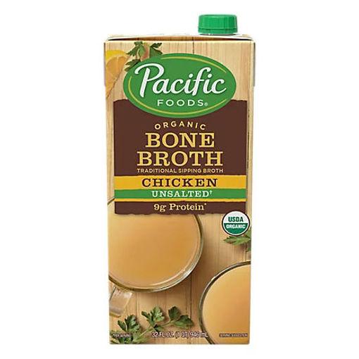 Picture of Pacific Organic Bone Broth Chicken - 32 Fl. Oz.