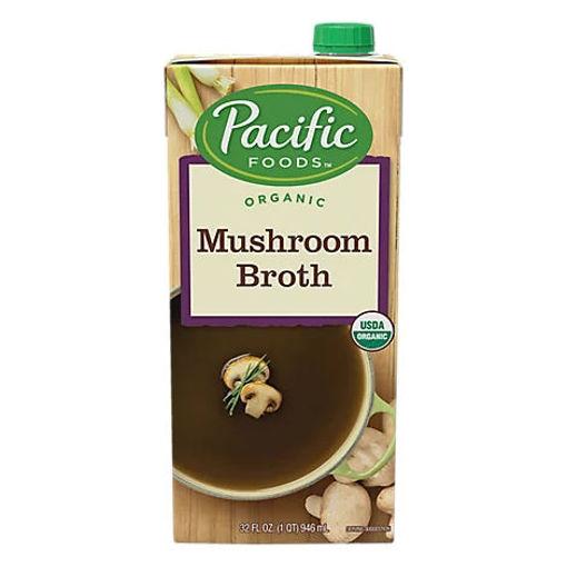 Picture of Pacific Organic Broth Mushroom - 32 Fl. Oz.