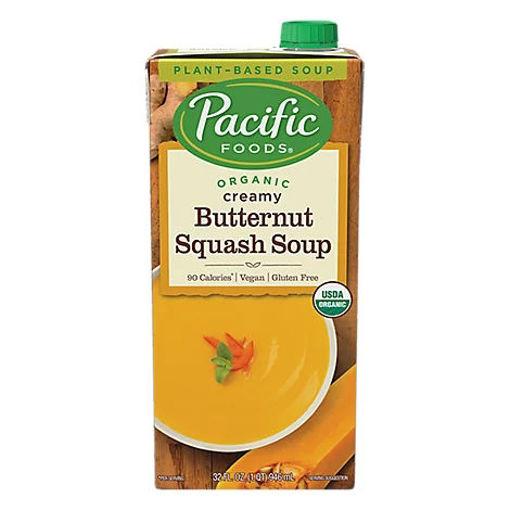 Picture of Pacific Organic Soup Creamy Butternut Squash - 32 Fl. Oz.