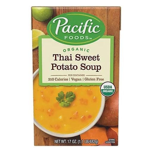 Picture of Pacific Organic Soup Thai Sweet Potato - 17 Oz
