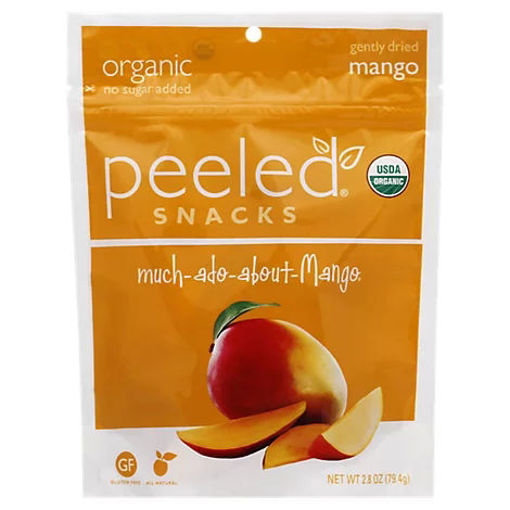 Picture of Peeled Organic Snack Dried Mango Much Ado About Mango - 2.8 Oz