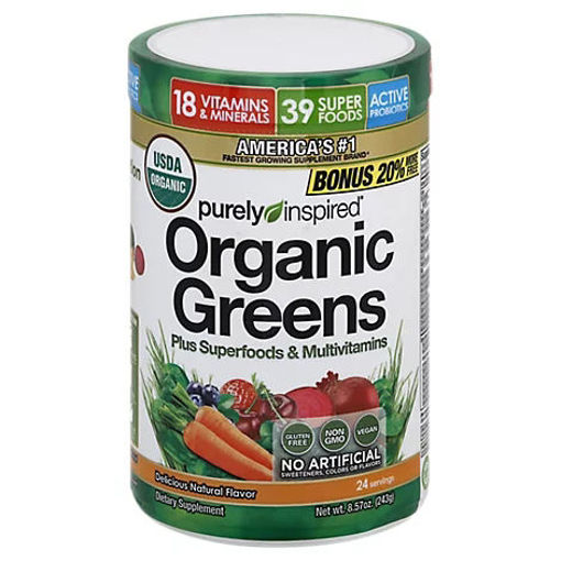 Picture of Purely Inspired Powder Organic Greens - 9.88 Oz