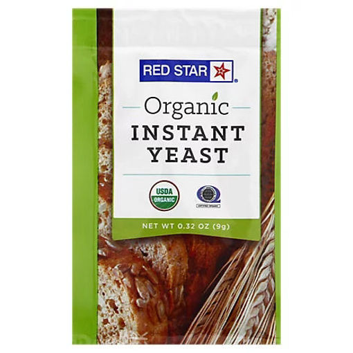 Picture of Red Star Organic Yeast Single Strip - 0.32 Oz