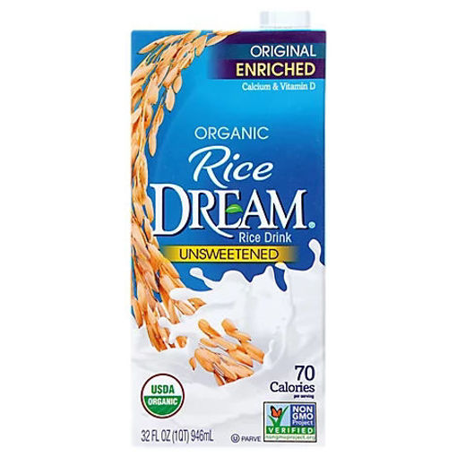 Picture of Rice Dream Rice Drink Enriched Original Unsweetened Organic - 32 Fl. Oz.