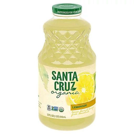 Picture of Santa Cruz Organic Juice Lemonade - 32 Fl. Oz.