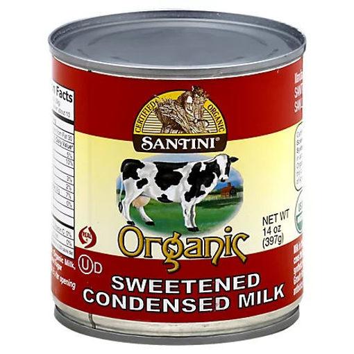 Picture of Santini Organic Condensed Milk Sweetened - 14 Oz