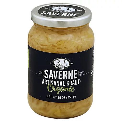Picture of Saverne Artisanal Kraut Organic - 16 Oz