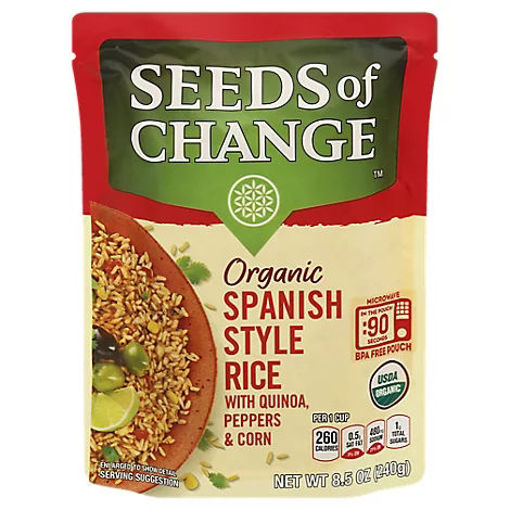 Picture of SEEDS OF CHANGE Organic Rice Spanish Style - 8.5 Oz