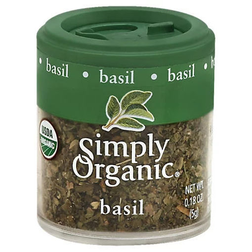 Picture of Simply Organic Basil - 0.18 Oz
